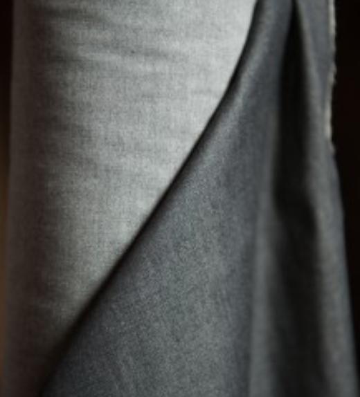 Merchant and Mills Denim dress weight '5oz' (Black)