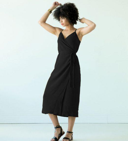 Calvin black dress