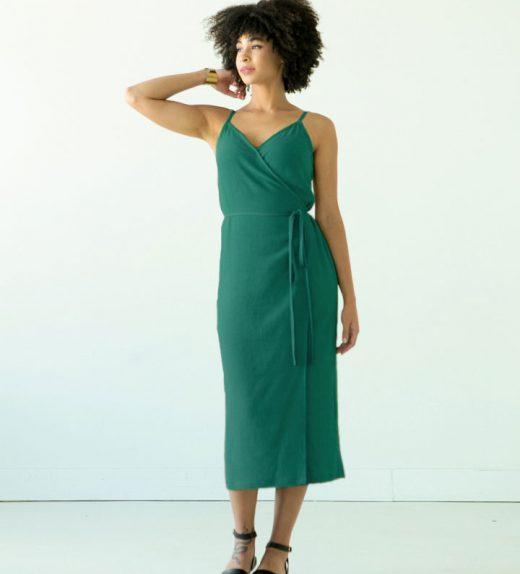 Calvin emerald dress