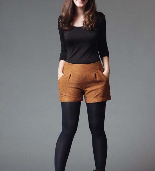 chataigne-shorts-pattern
